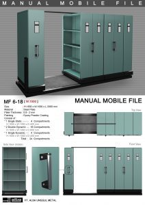 Manual Mobile File MF 6-18 Alba